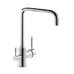 Stainless Steel Single-Handle Sink 3 Way