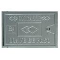 Puerta Con Marco De Aluminio