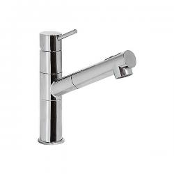Monomando fregadero vertical con ducha extraíble (2funciones) TRES