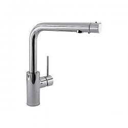Monomando fregadero vertical doble función sin filtro. NOTA: para instalaciones de osmosis. TRES