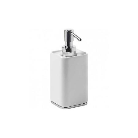 Dosificador jabón de encimera cerámico serie LOFT-TRES