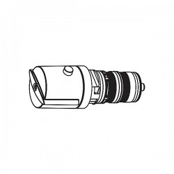 Cartucho termostático + volante derecho Ref.: 29919504 TRES