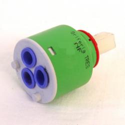 Cartucho termostático + volante para grifería TRES