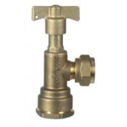 Válvula De Salida Con Conexión A Polietileno Ø exterior 32 mm. DN 20