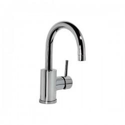 Faucet single lever basin Caño Curvo 27 Cm. - ALPLUS TRES