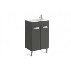Mueble Base 2 Puertas y Lavabo UNIK DEBBA COMPACT ROCA