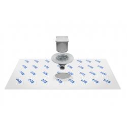 Kit De Desagüe Con Tela Geotextil In-Drain Shower SQ ROCA