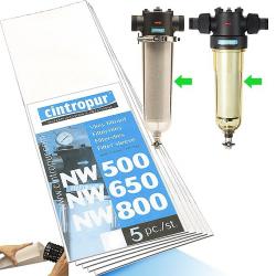 5 Micron NW 50/62/75 Set 5 Filt.