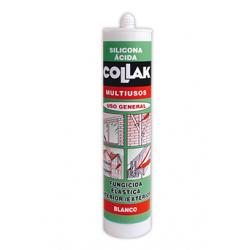 Silicona Acida MULTIUSOS 280 Ml. COLLAK