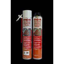 Foam Cánula Fijación Tejas 750 Ml. (Con Guantes) COLLACK