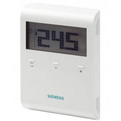 Room thermostat with LCD display RDD100 SIEMENS