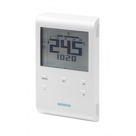 RDE100 Termostato de ambiente con interruptor de 7 dias y LCD, AV 230 V