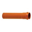 Tubo colorido para ladrilhos com junta de pressão PN6 SDR 41