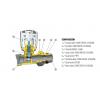 Válvula Termostática Recta Doble Reglaje M24 x 19 POLARIS