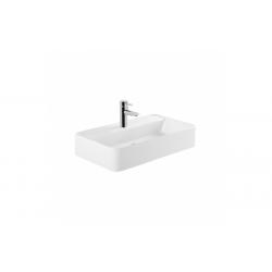 Lavabo A Pared Cuadrado/Rectangular Con Orificio Para Grifo SANLIFE UNISAN