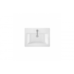 Semi-recessed washbasin width LOOK - UNISAN