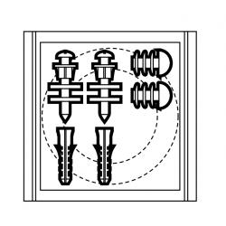 Fijaciones Y Junta Inodoro-Cisterna ROCA