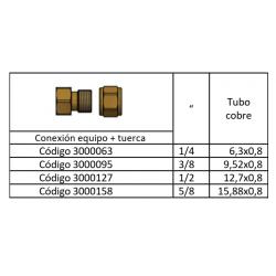Kit Conexión Racor De Refrigeración Frigofácil