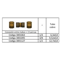 Kit Unión Racor De Refrigeración Frigofácil