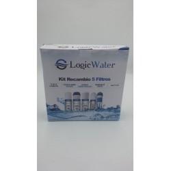 KIT de Cartucho de Substituição de Osmose Reversa (Sedimento + Gac + Bloco + Pós-filtro)