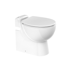 SANICOMPACT PRO - Inodoro con triturador incorporadoDual Flush