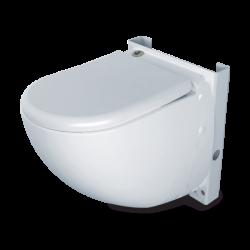 SANICOMPACT COMFORT - Inodoro suspendido con trituradorincorporado Dual Flush