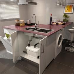 SANIVITE - Bomba para lavavajillas, lavadora, ducha