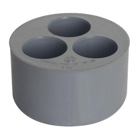 Triple bouchon réducteur PVC pour l'évacuation 110-32-32-32 V-333 RIUVERT
