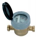 Medidor de água a jato simples com rolos protegidos