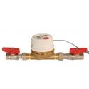Domestic hot water consumption accounting kit