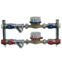 Kit de contabilidade da água com âncora e filtros