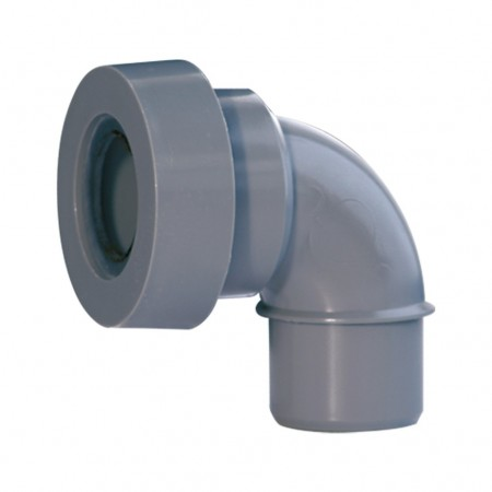 Elbow male with joint for bathroom fittings outlet A-100 RIUVERT