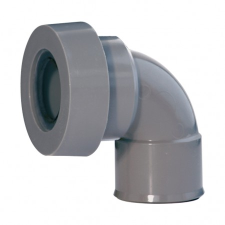 Elbow female with joint for bathroom fittings outlet A-101 RIUVERT