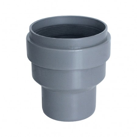 Clay/PVC adaptor with lip-ring A-109 RIUVERT