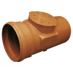 Clapet anti-retour PVC avec joint à lèvre Couleur Orange classe 0 A-140 RIUVERT
