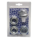 """KIT Plug + Right-hand drain + Reductions 1 """"zinc-plated"""