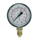 Pressure gauge with double scale radial connection DN50