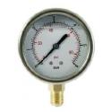 Manómetro En Baño De Glicerina Conexión Radial DN60