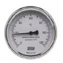 Termómetro Bimetalico Con Conexión Posterior DN63