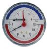 Termomanómetro De Conexión Posterior DN80