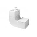 Toilet W+W ROCA - Washbasin and toilet 2 in 1