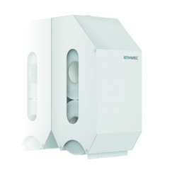 Dispensador Papel Doble Rollo Acero