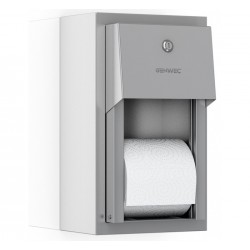 Dispensador Doble Rollo Mural INOX 304 Satinado
