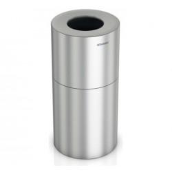 Papelera De Aluminio Satinado 50 L.
