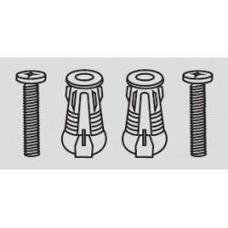 Juego Kit 2 Tornillos + 2 Expansores