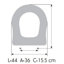 Sedile Water Ideal Standard Conca.Sedile Copriwater Ideal Standard Antalia