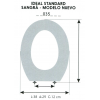 Tpa WC Infantil IDEAL STANDARD / SANGRA MODELO NUEVO (Tapa + Aro)