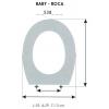 Tapa WC Infantil BABY ROCA (Tapa + Aro)
