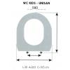 Tapa WC Infantil KIDS-UNISAN (Tapa + Aro)