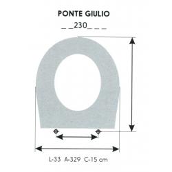 Asiento WC Infantil PONTE GIULIO (Solo Aro)